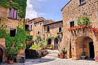Колоритные улочки Италии. (Код изображения: 14066)
