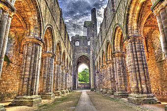Двор старого замка (Код изображения: 14076)