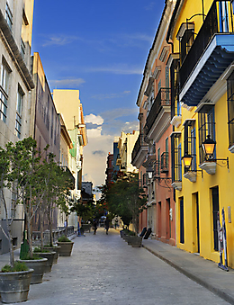 Старые улочки Гаваны (Каталог номер: 14086)