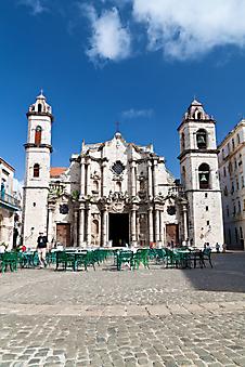 Площадь старой Гаваны. Куба (Каталог номер: 14088)