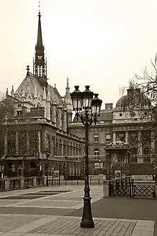 Улочки Парижа. Дворец правосудия (Каталог номер: 14094)