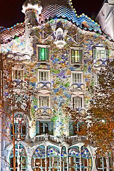 Улочки Испании. Дом Бальо в Барселоне (Каталог номер: 14097)