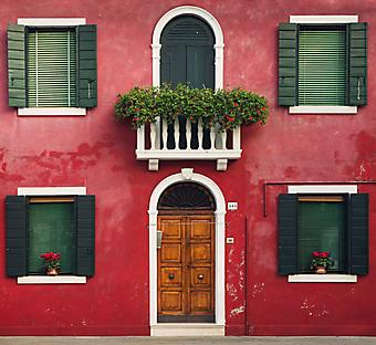 Красный дом в Венеции (Каталог номер: 14110)