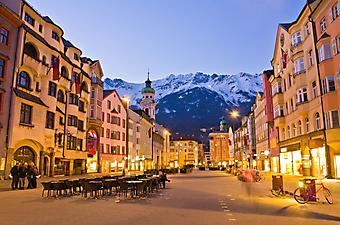 Площадь Инсбрука, Австрия. (Каталог номер: 14145)