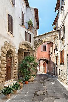 Улицы Тасканы, Италия (Каталог номер: 14150)