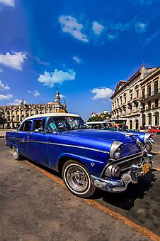 Автомобили на улице Гаваны (Каталог номер: 14168)