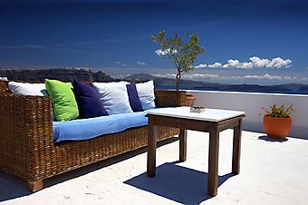 Вид на море с балкона (Каталог номер: 15050)