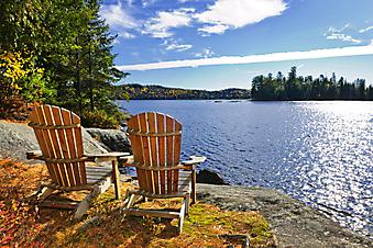 Веранда у озера Двух рек, Канада (Каталог номер: 15061)