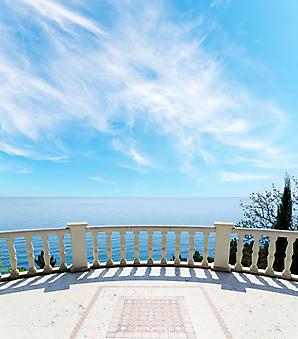 Вид на море с террасы (Каталог номер: 15068)