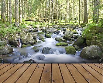 Терраса с видом на лес (Каталог номер: 15072)