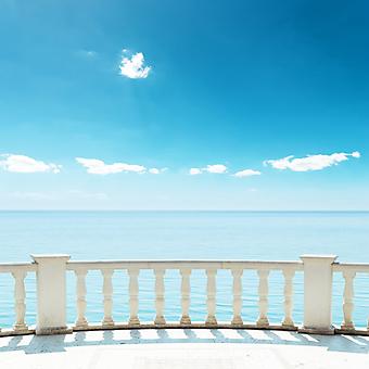 Балкон у моря (Каталог номер: 15076)