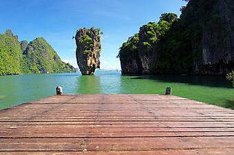 Терраса с видом на острова, Таиланд (Каталог номер: 15088)