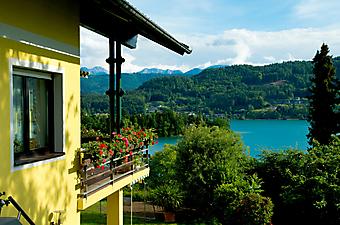 Австрийский дом с балконом (Каталог номер: 15095)