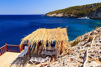 Беседка с видом на море, Закинф, Греция (Каталог номер: 15097)
