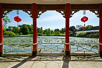 Терраса в японском стиле (Каталог номер: 15103)