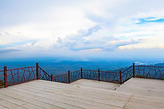 Терраса на горе (Каталог номер: 15107)