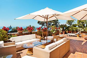 Ресторан на террасе с панорамным видом (Каталог номер: 15108)