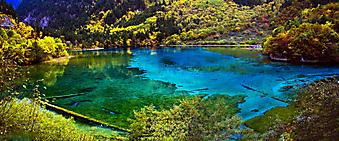 Голубое озеро. (Код изображения: 18001)