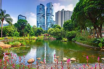 Центральный парк Гонконга (Каталог номер: 18065)