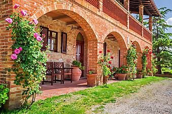 Веранда в итальянском стиле (Каталог номер: 18103)