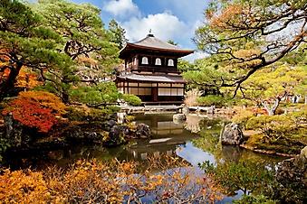 Японский храм в парке Киото (Каталог номер: 18131)
