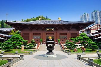 Женский монастырь Чилинь, Гонконг (Каталог номер: 18135)