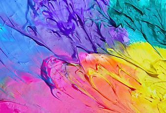 Акриловые краски. (Код изображения: 22010)