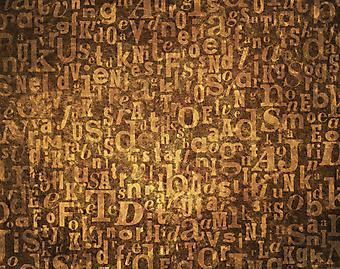 Алфавит. (Код изображения: 22017)