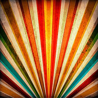 Многоцветные лучи. (Код изображения: 22031)