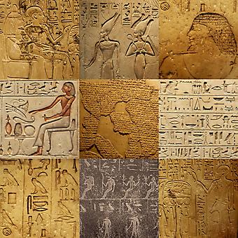 Рисунки на камне. (Код изображения: 22034)