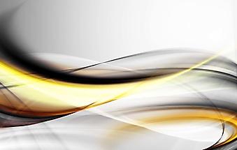 Фон из абстрактных горизонтальных волн (Каталог номер: 22054)