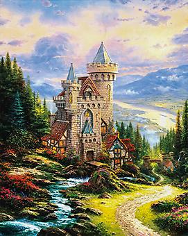 Томас Кинкейд (Tomas Kinkade) - Хранитель замка (Guardian Castle). (Код изображения: 24044)
