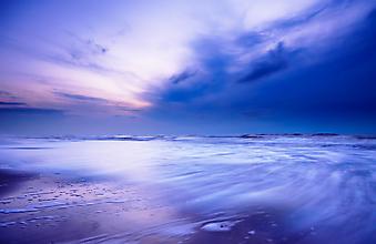 Вечерний океан. (Код изображения: 04002)