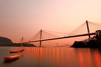 Тинг Кау, Гонконг. (Код изображения: 04011)