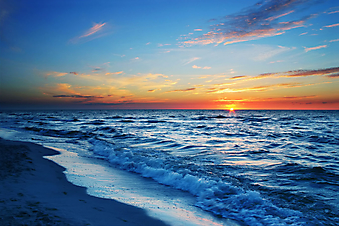 Закат. (Код изображения: 04021)