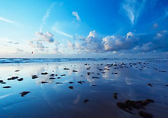 Морской пейзаж. (Код изображения: 04027)