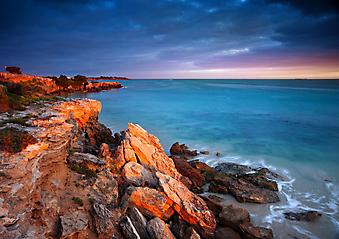 Восход солнца. (Код изображения: 04028)