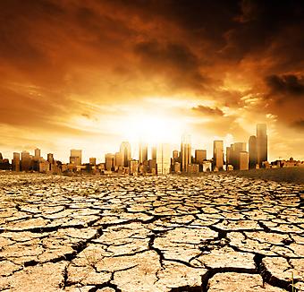 Глобальное потепление. (Код изображения: 04043)