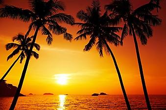 Закат над островами, Таиланд (Каталог номер: 04077)