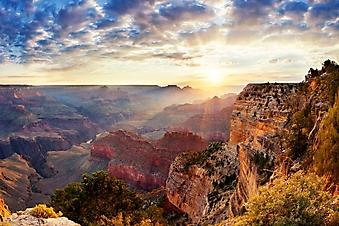 Рассвет над красочным каньоном (Каталог номер: 04089)