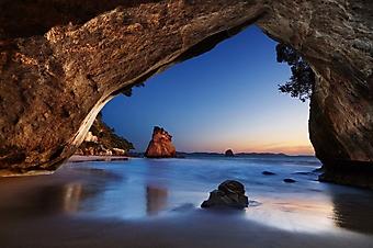 Вечер в пещере, Новая Зеландия (Каталог номер: 04104)
