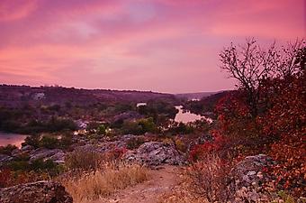 Закат над тихой рекой (Каталог номер: 04105)