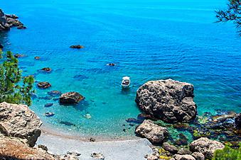 Дикий пляж. (Код изображения: 05023)