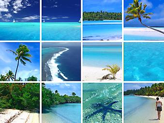 Тропические сцены. (Код изображения: 05062)