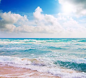 Волны. (Код изображения: 05073)