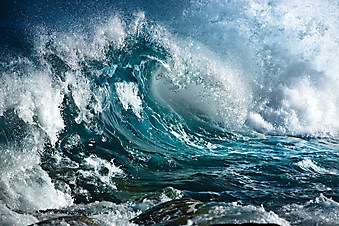 Бушующее море. (Код изображения: 05102)