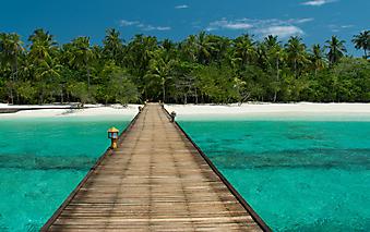 Пристань в рай. (Код изображения: 05106)