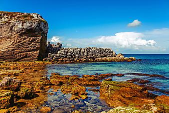Пляж острова Тарифа. Испания. (Код изображения: 05107)