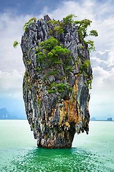 Остров Джеймса Бонда, Тапу, Таиланд (Каталог номер: 05142)
