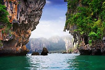 Пляж острова Краби, Таиланд (Каталог номер: 05155)